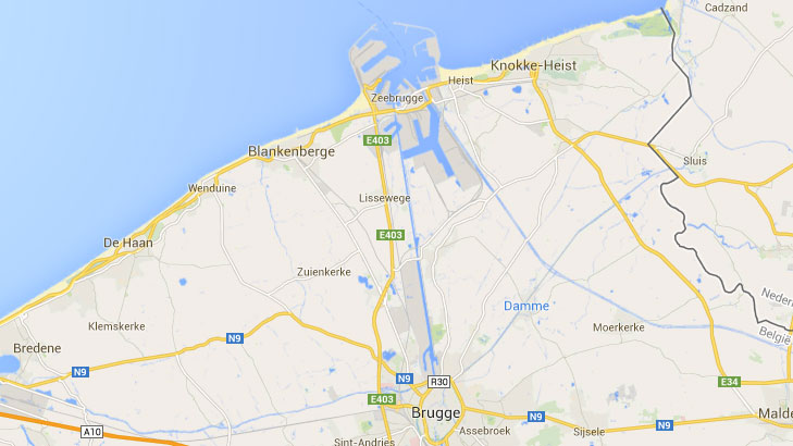 Zeebrugge port driving in europe eurobreakdown for Port zeebrugge