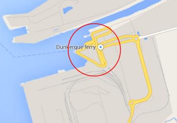 Dunkirk port driving in europe eurobreakdown - Dunkirk port france address ...