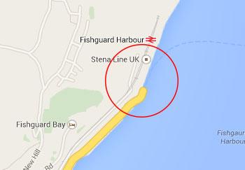 Fishguard port driving in europe eurobreakdown - Rosslare ferry port arrivals ...